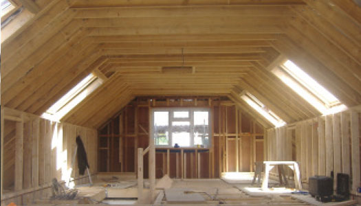 #Conversions##Making use of existing space, ensuring a light feel